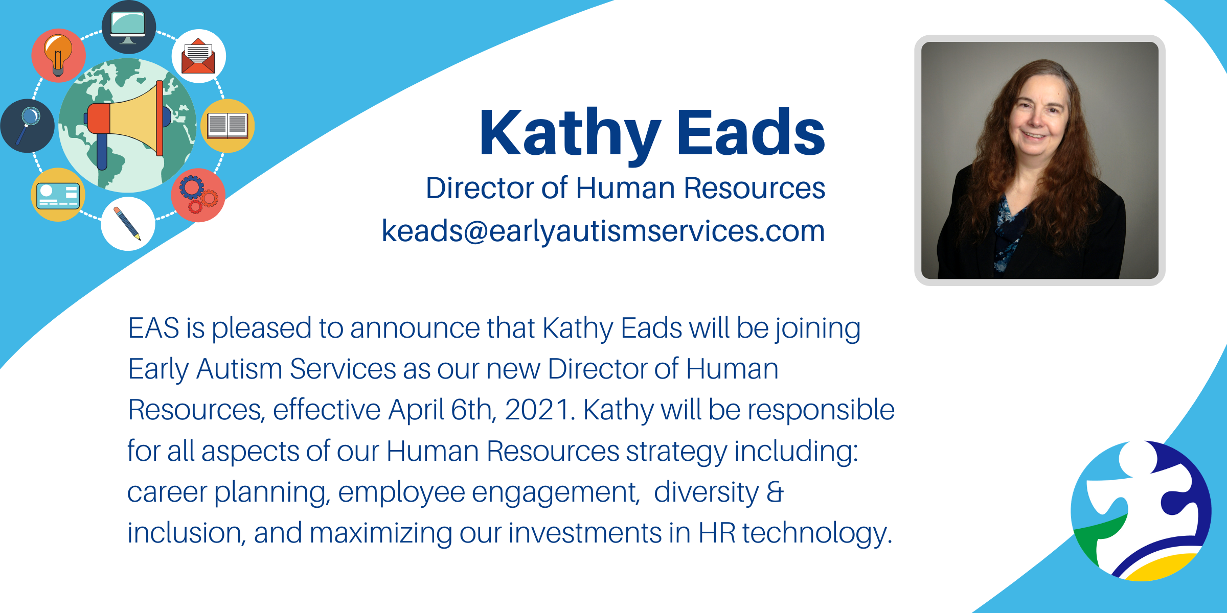 Kathy Eads - Director of HR Early Autism Services